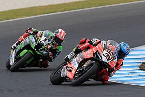 Superbike-WM Rennbericht WSBK Australien: Marco Melandri nur 0,021 Sekunden vor Jonathan Rea!