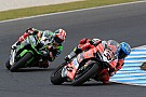 Phillip Island WSBK: Melandri beats Rea in flag-to-flag thriller