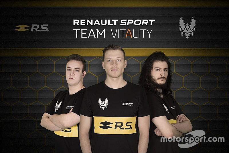 ルノー、プロゲーマーと共にF1 eSportシリーズに参戦するチームを設立