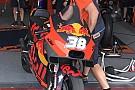 Anche la KTM porta in pista una nuova carena in Thailandia