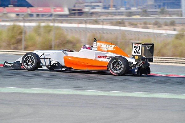 Indian Open Wheel Dubai MRF: Martono scores maiden win in Race 4