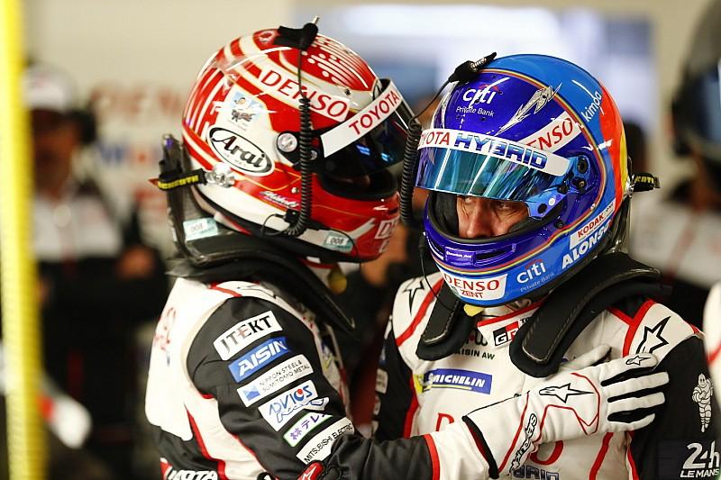 Alonso reconoce que Nakajima fue quien logró la pole