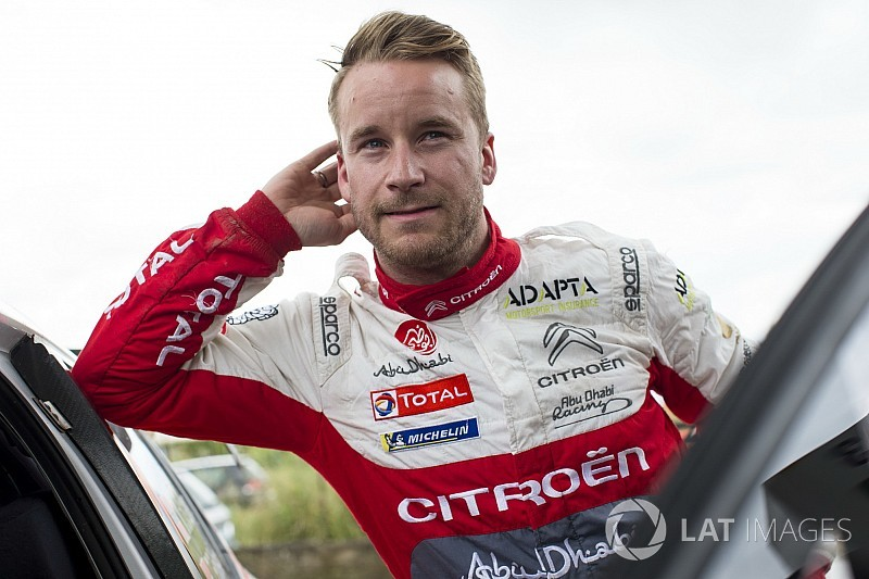 Ostberg replaces Meeke at Citroen