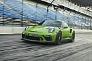 Автомобілі Новий Porsche 911 GT3 RS 2018 року засвітився у мережі