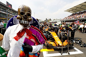 Las mejores imágenes del alocado GP de México 2017