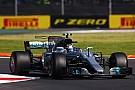 Bottas sorprende en los Libres 1 del GP de México