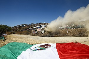 WRC Leg report Mexico WRC: Ogier grabs lead from Loeb