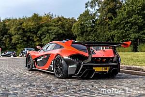 Auto Actualités Photos - Découvrez la rarissime McLaren P1 GTR LM