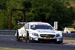 DTM Raceverslag DTM Hungaroring: Strategische zet brengt Di Resta overwinning