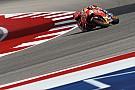 Márquez termina el viernes de Austin delante de Viñales