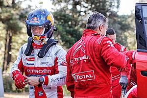 WRC News WRC 2018: Citroen-Chef will Sebastien Loeb in Monte Carlo