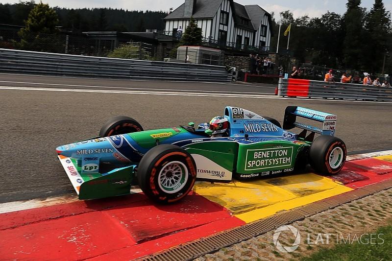 Galería: El casco que uso Mick Schumacher con el Benetton B194