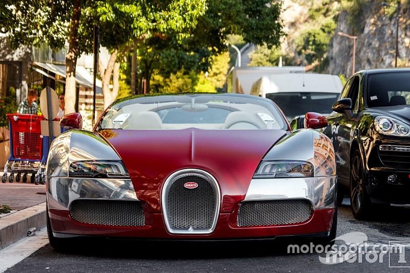 Photos - L'une des Bugatti Veyron saisies par la justice