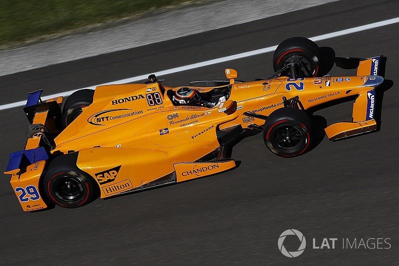 Alonso hoopt op Indy 500-oranje voor McLaren F1-wagen