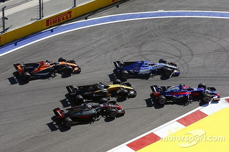 Palmer cree que Grosjean tuvo la culpa en el accidente