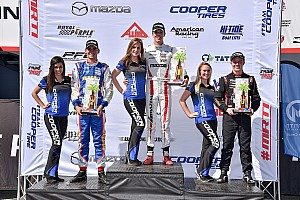Barber USF2000: Askew domina la primera carrera