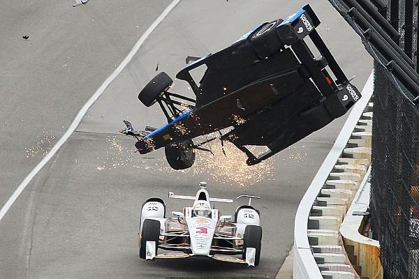 IndyCar Interjú Castroneves: Dixon valószínűleg eltalált repülés közben!