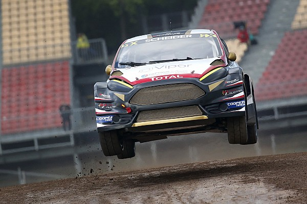 World Rallycross Barcelona WRX: Scheider tops qualifying, Loeb out of contention