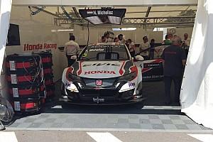 WTCC Test Vila Real, Test: Michelisz porta subito la Honda al comando