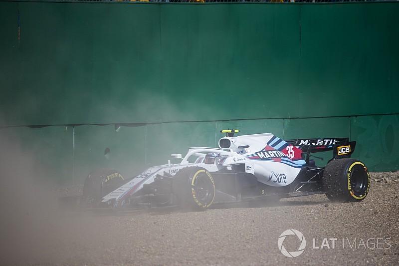 Los Williams comenzarán desde el pitlane en Silverstone