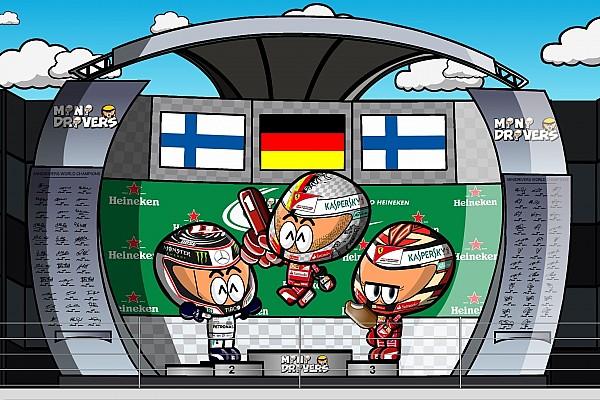 Vídeo: el GP de Brasil 2017 de F1 por los geniales MiniDrivers