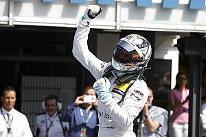 DTM Breaking news 'Surprise' win proves doubters wrong, says Mercedes
