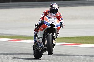 MotoGP Practice report Malaysian MotoGP: Dovizioso leads Bautista in opening practice