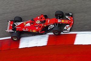Формула 1 Новость Феттель рассказал о вылете во второй тренировке в Остине