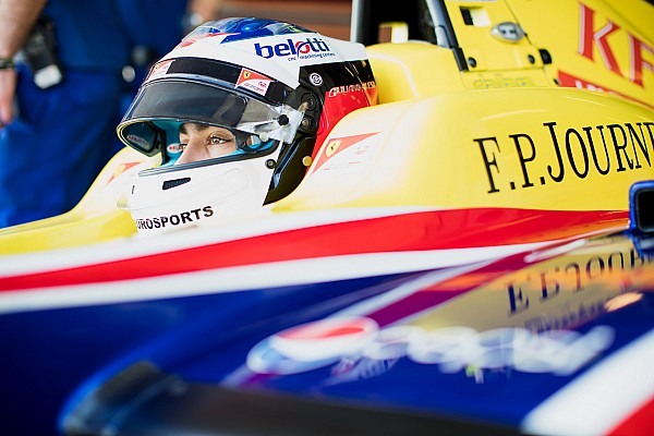 Alesi seguirá en Trident para la GP3 de 2018