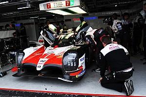 24 heures du Mans Actualités Toyota a testé son proto LMP1 sur trois roues