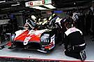 24 heures du Mans Toyota a testé son proto LMP1 sur trois roues