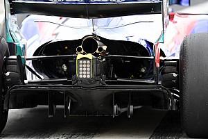 Formula 1 Analisi Toro Rosso: è esagerato lo sfogo d'aria calda per il motore Honda