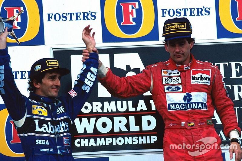 Photos - Le dernier podium de Senna et Prost en F1