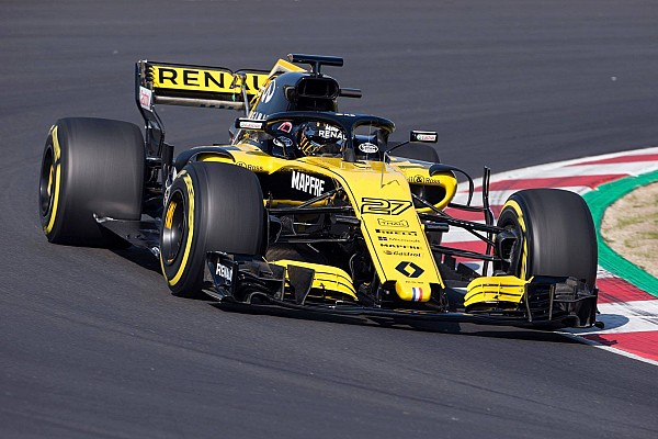 Formula 1 Breaking news Renault admits launch pictures were not real 2018 car