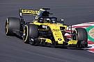 Formule 1 Premiers tours de roue pour la Renault R.S.18 à Barcelone