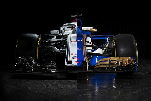 Formula 1 Ultime notizie Alfa Romeo Sauber C37 e Sauber C36 a confronto