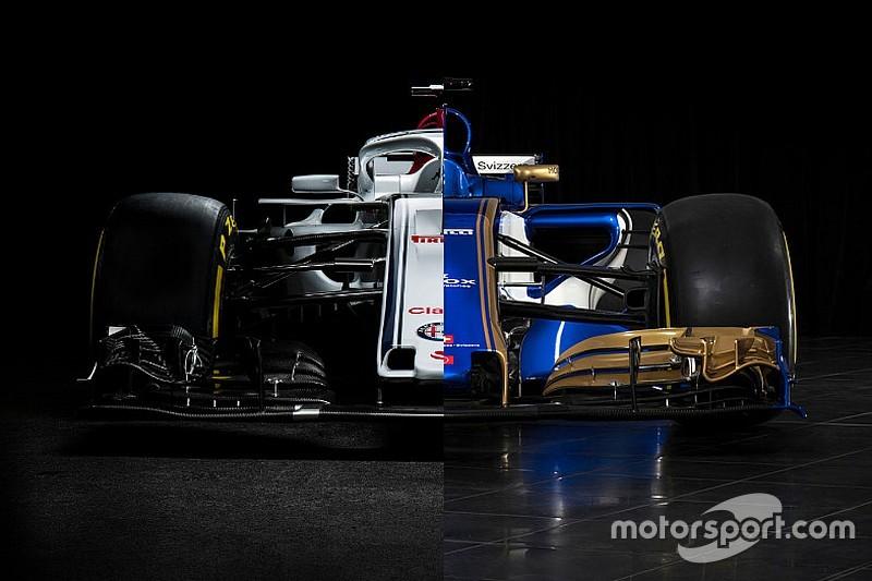 Vergleich: Sauber C36 vs. Sauber C37 für die Formel 1 2018