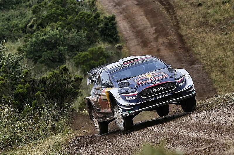 İtalya WRC: Mikkelsen kaza yaptı, Ogier lider