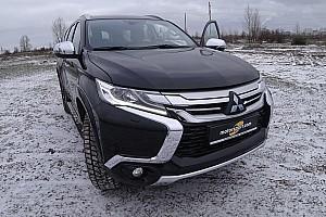 Галерея: невдалі тести Mitsubishi Pajero Sport