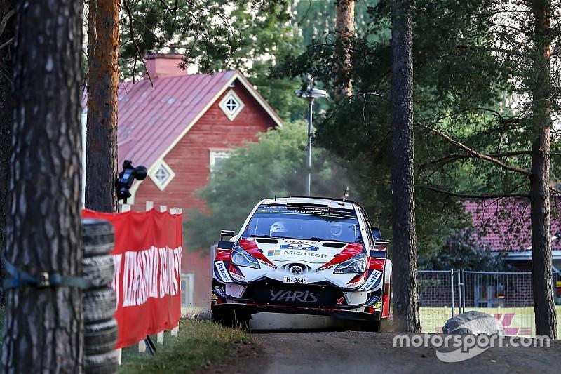 WRCフィンランド:トヨタのタナクが好発進。5.8秒のリードでトップ