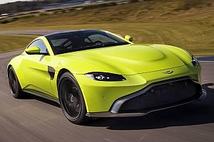 Automotive Breaking news Aston Martin reveals all-new 2018 Vantage