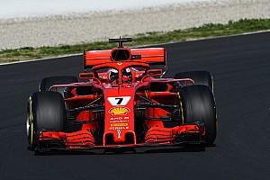 Raikkonen lidera la última mañana y McLaren vuelve a sufrir