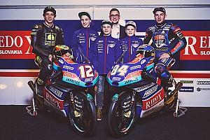 Moto3 Ultime notizie Team PrüstelGP: Bezzecchi e Kornfeil svelano la livrea della KTM