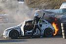 Rallycross-WM Andreas Bakkerud: Feuer-Unfall bei Testrennen in Belgien