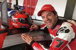 GT Ultime notizie Carlos Checa due volte a podio con l'Audi R8 al Nürburgring