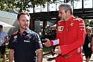 Ferrari, Red Bull clash over Mekies move