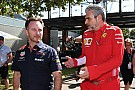 Fórmula 1 Ferrari y Red Bull se enfrentan en rueda de prensa por Mekies