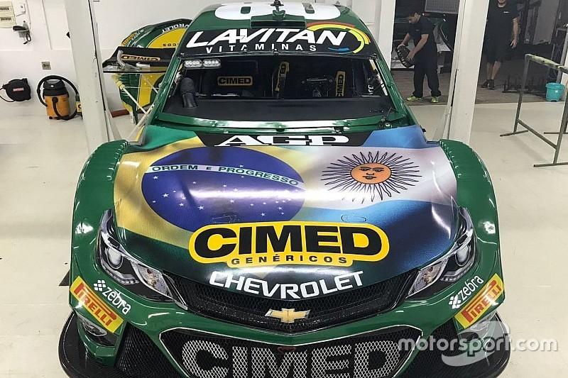 Em volta da Stock à Argentina, Cimed usa pintura especial