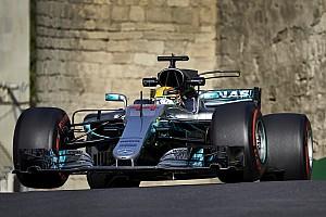 Formula 1 Qualifying report GP Azerbaijan: Mercedes di depan Ferrari, Hamilton cetak pole position