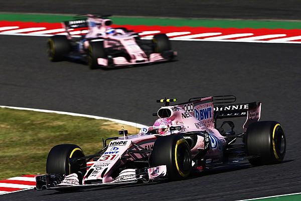 Force India: Окон має підвищити рівень своєї майстерності